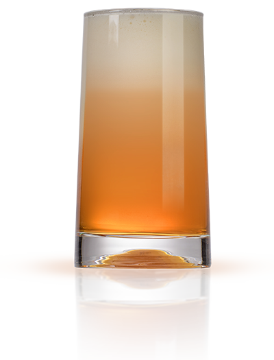 Hardtank Nitro Cold Brew Cascara. Glass.